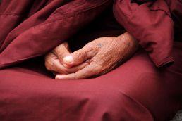 Hände Meditation